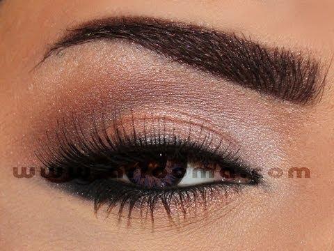 Bridal makeup tutorial ( arrooma ) تعليم مكياج مناسبات بسيط وراقي