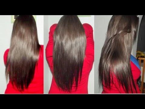 Como fazer o cabelo crescer rápido, acabar com a queda e mante-lo liso naturalmente em 1 só produto!