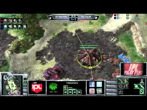 Squirtle vs HyuN - Game 3 - FC28 - StarCraft 2