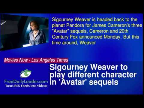 Sigourney Weaver to play different character in 'Avatar' sequels