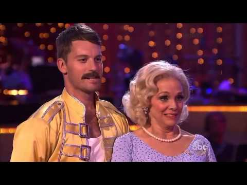 Dancing with the stars  Valerie Harper Tristan Macmanus   Cha Cha Cha   Week 3   DWTS 17