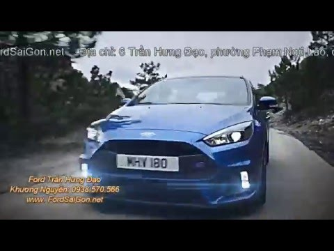 Ford Focus 2016 đi đường đèo