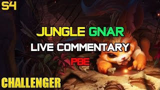 Challenger Jungle Bruiser Gnar Ep. 10 PBE LIVE