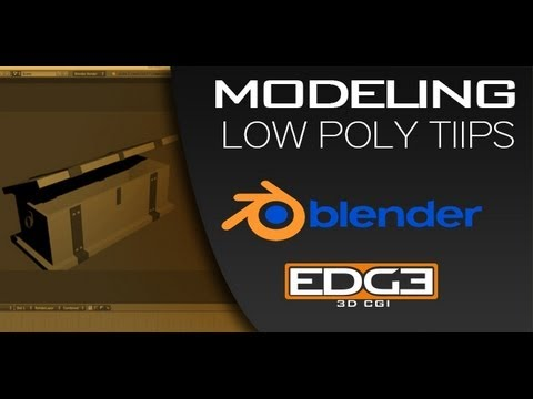 Blender for Beginners: Low poly modeling tips and tricks by ZoyncTV