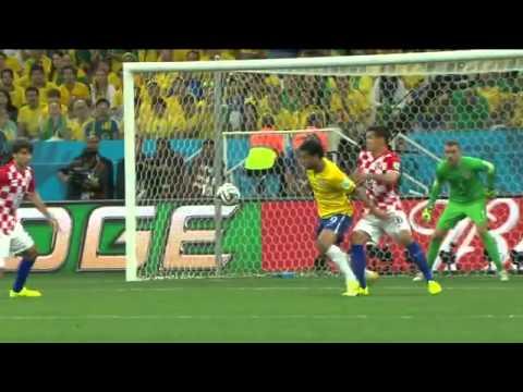 Copa do Mundo 2014 Brasil 3x1 Croácia Gols