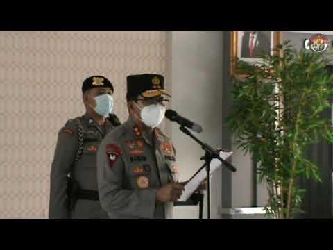 Pelantikan Dirsamapta & Sertijab Karumkit Bhayangkara Polda Kalbar