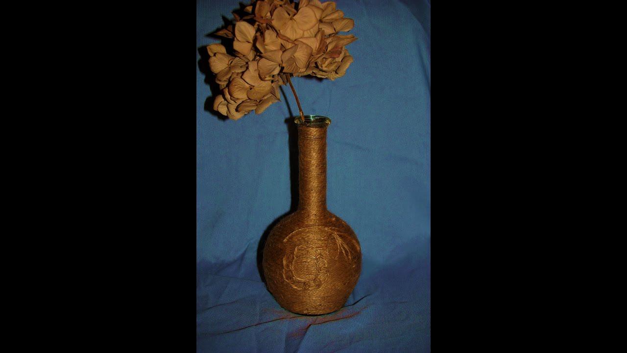 Как сделать вазу своими руками мастер класс