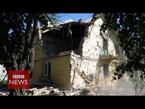 Ukraine crisis: 'Kramatorsk hit by wave of shelling'