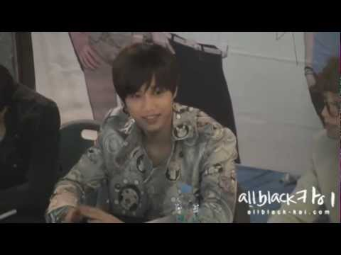 Fancam 120509 Gwangju Fan Sign Event - Kai focus