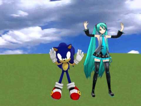 [MMD] Sonic and Miku - Ievan Polkka