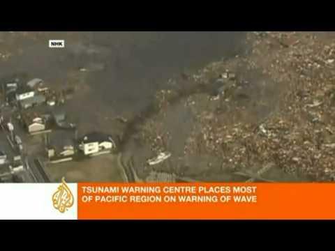 Kinh hoàng động đất và sóng thần ở Nhật Bản