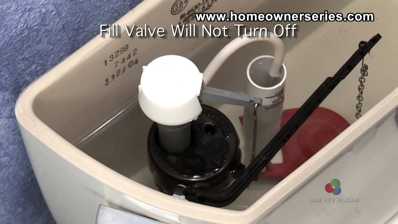 how to fix a toilet diagnostics fill valve youtube. Black Bedroom Furniture Sets. Home Design Ideas