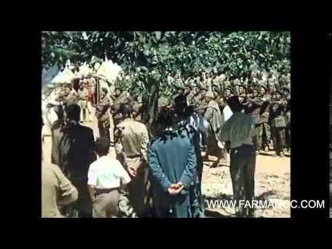 فيديو نادر الملك الحسن الثاني مع بنبركة