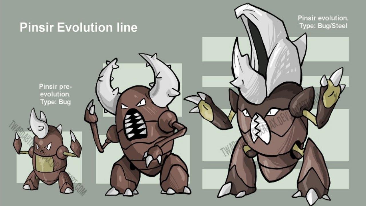 Pokemon Scyther Evolution Images | Pokemon Images
