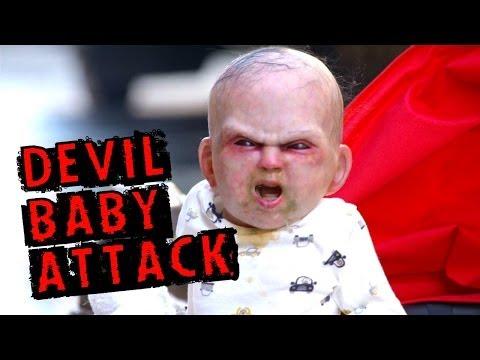 Pegadinhas 2014 – O bebê do diabo