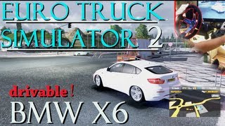 Euro Truck Simulator 2 BMW X6 Car Mod 250 Km/h 2500hp