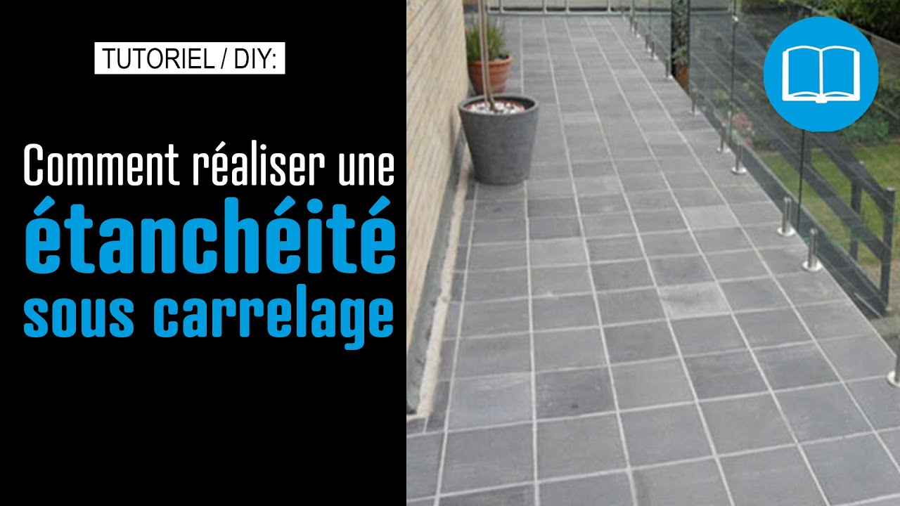 Etanch it sous carrelage terrasse piscine douche l for Etancheite sous carrelage