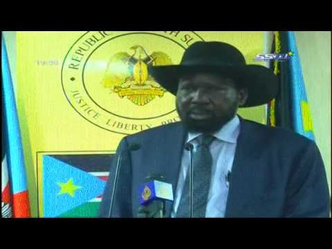 speech delivered by President Salva Kiir Mayardit during christmas celebrations