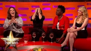 The Cast of Ghostbusters Find Chris Hemsworth Annoyingly Perfect - The Graham Norton Show