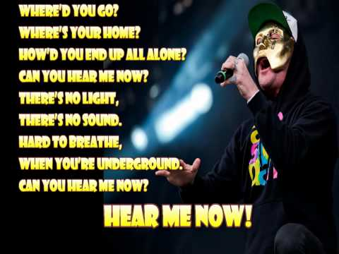 Hollywood Undead - Hear Me Now Lyrics FULL HD