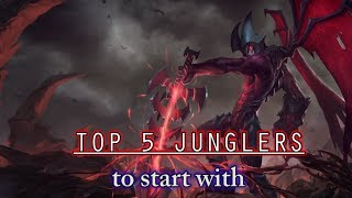Top 5 Junglers to Start with - Part 3: Aatrox