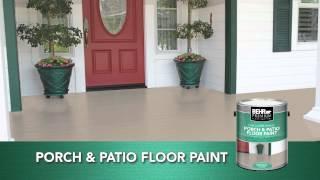 Exceptionnel BEHR PREMIUM® Low   Lustre U0026 Gloss Enamel Porch U0026 Patio Floor Paint    YouTube