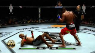Luta UFC : Anderson Silva VS Jon Jones ( Xbox 360 )