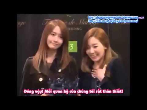 VIETSUB  121130 SNSD TaeYeon Yoona HaHa & Byul's Wedding
