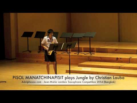 PISOL MANATCHINAPISIT plays Jungle by Christian Lauba