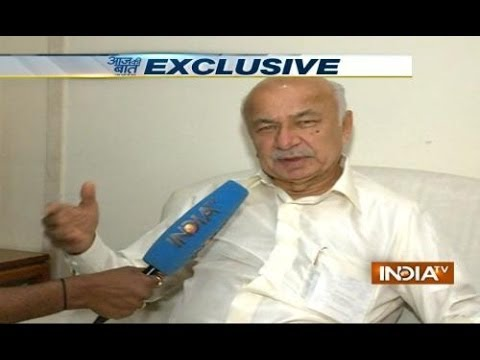 Exclusive: Sushil kumar Shinde speaks with India TV
