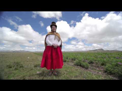 Lidia, mujer rural de Bolivia