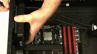 How To Install The Corsair Cooling™ Hydro Series H50 CPU