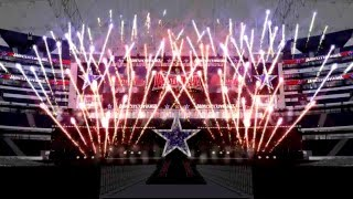 WWE WrestleMania 32 Stage Concept and Opening Pyro Animation