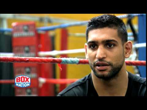 Amir Khan 10 days after Collazo win