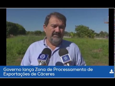 Pedro Taques da ordem de Serviço da ZPE