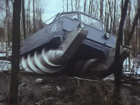 Top Secret of the Soviet Union all-terrain vehicle