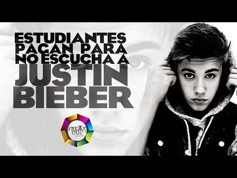 Thumbnail of video Justin Bieber: Estudiantes Pagan Para No Escuchar Su Música