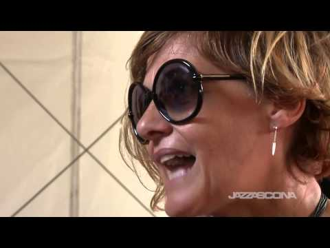 Intervista a Irene Grandi, live @ JazzAscona 2014, 22nd of June 2014