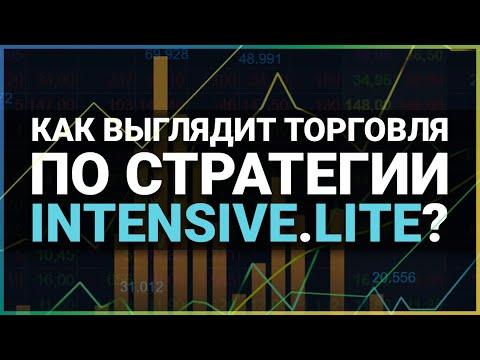 Юрий Антонов торгует по стратегии Intensive Lite