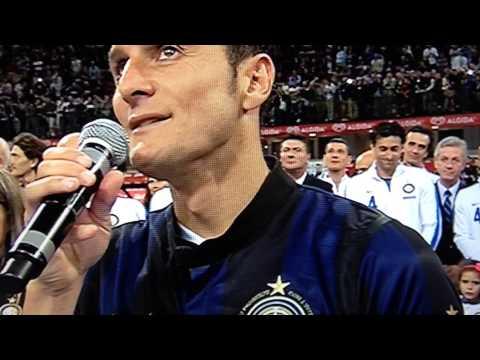 Addio al calcio di Javier Zanetti HD