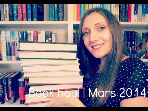Book haul | Mars 2014 - Hardbacks V.O.