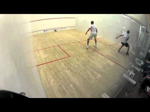 Squash tips video & squash tips and tricks: How squash pros quickly recover back to the center