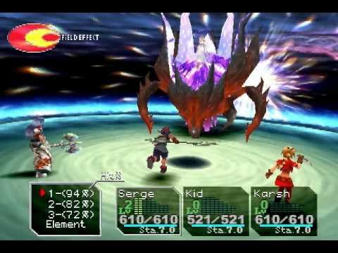 psx chrono cross gameplay youtube