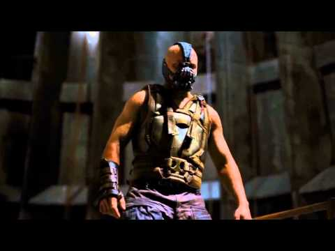 The Dark Knight Rises (2012) Batman Vs. Bane Fight [HD]