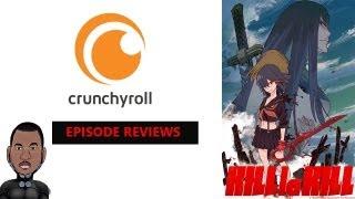 Kill La Kill Episodes 1&2 Review/First Impressions