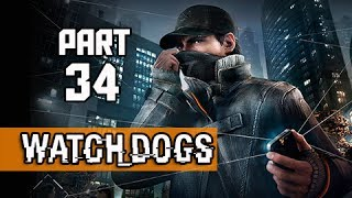 Watch Dogs Walkthrough Part 34 - Warehouse Shootout (PS4 1080p Gameplay)