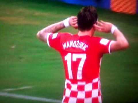Hrvatska -Kamerun gol Mandzukica za 4 0