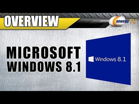 Microsoft Windows 8.1 Overview - Newegg TV