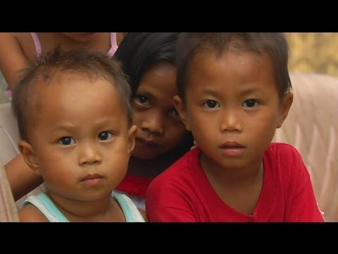 ARE THESE KIDS BETTER OFF 1 MONTH SINCE TYPHOON HAIYAN ? BBC NEWS