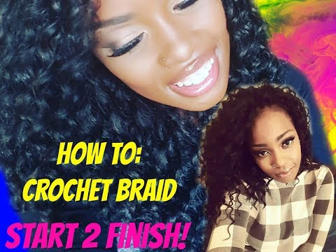 CROCHET || FREETRESS DEEP TWIST (START 2 FINISH)